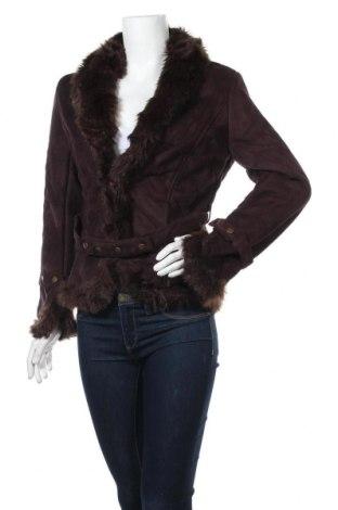 Дамско палто, Размер S, Цвят Кафяв, Полиестер, Цена 21,84лв.