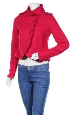Дамско палто, Размер M, Цвят Розов, Цена 61,85лв.