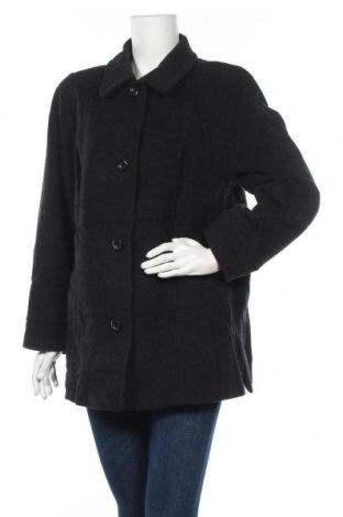Дамско палто, Размер XXL, Цвят Черен, 60% вълна, 20% полиамид, 20% кашмир, Цена 88,78лв.