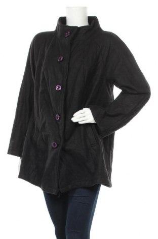 Дамско палто, Размер XXL, Цвят Черен, Полиестер, Цена 17,64лв.