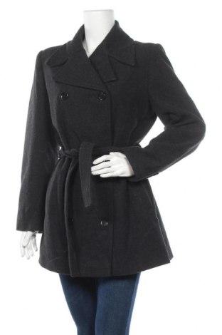 Дамско палто, Размер L, Цвят Сив, 35% полиестер, 30% вълна, 30% акрил, 5% други тъкани, Цена 23,10лв.
