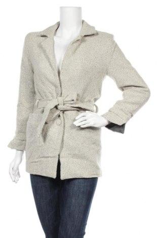Дамско палто, Размер S, Цвят Бежов, 60% вискоза, 40% полиестер, Цена 13,60лв.