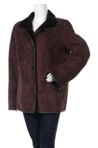 Дамско палто, Размер L, Цвят Кафяв, Цена 11,29лв.