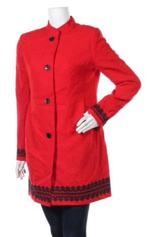 Дамско палто, Размер M, Цвят Червен, Цена 48,20лв.