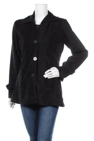Дамско палто, Размер M, Цвят Черен, Полиестер, Цена 10,14лв.