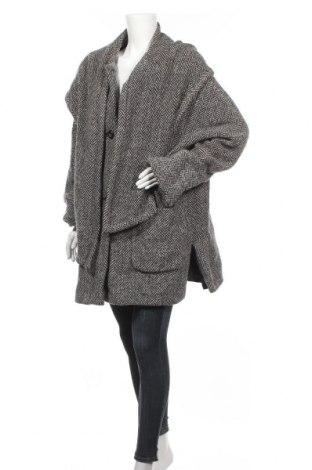 Дамско палто, Размер L, Цвят Сив, 75% вълна, 20% ангора, 5% полиамид, Цена 45,36лв.