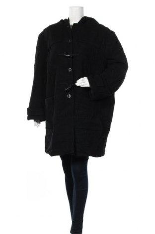 Дамско палто, Размер XXL, Цвят Черен, Цена 30,03лв.