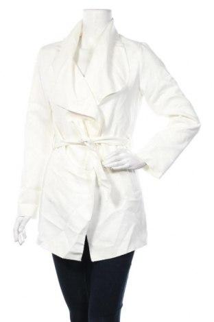 Дамско палто, Размер M, Цвят Бял, Полиестер, Цена 9,98лв.