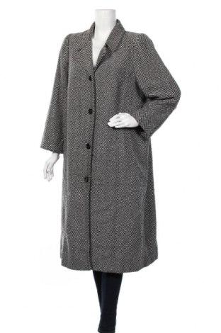 Дамско палто, Размер XXL, Цвят Черен, 60% полиестер, 20% вълна, 20% акрил, Цена 37,01лв.