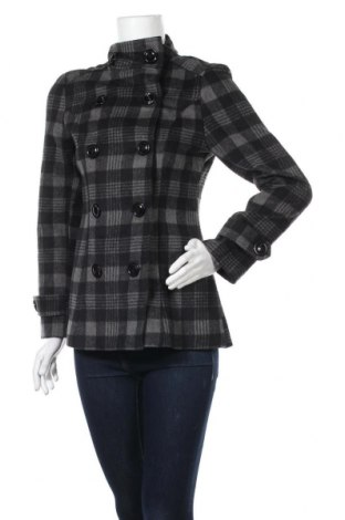 Дамско палто, Размер M, Цвят Сив, 95% полиестер, 5% вълна, Цена 30,87лв.