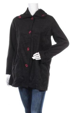 Дамско палто, Размер M, Цвят Черен, Полиестер, Цена 11,03лв.