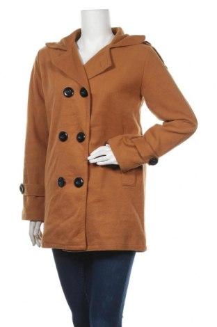 Дамско палто, Размер M, Цвят Кафяв, Цена 18,74лв.