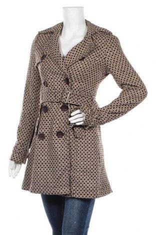 Дамско палто, Размер S, Цвят Кафяв, 15% вълна, 85% полиестер, Цена 37,28лв.