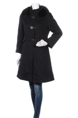 Дамско палто, Размер S, Цвят Черен, Цена 67,20лв.