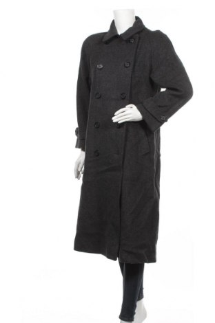 Дамско палто, Размер S, Цвят Сив, Вълна, Цена 24,89лв.