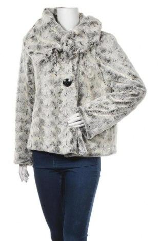 Дамско палто, Размер XL, Цвят Сив, Полиестер, Цена 46,88лв.
