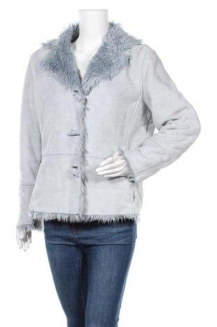 Дамско палто, Размер S, Цвят Син, Полиестер, Цена 19,37лв.