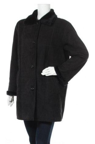 Дамско палто, Размер M, Цвят Черен, 63% акрил, 37% полиестер, Цена 23,52лв.