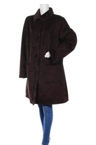 Дамско палто, Размер XL, Цвят Кафяв, Цена 26,46лв.