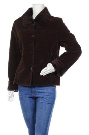 Дамско палто, Размер M, Цвят Кафяв, Полиестер, Цена 12,86лв.