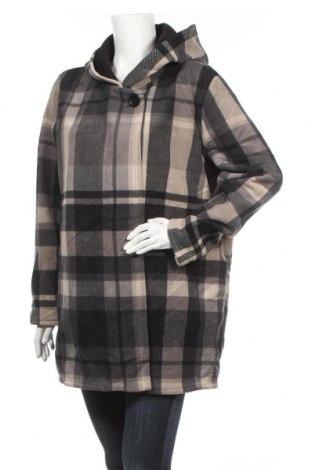 Дамско палто, Размер XL, Цвят Сив, Полиестер, Цена 57,12лв.