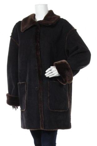 Дамско палто, Размер XL, Цвят Черен, Цена 16,28лв.