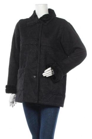 Дамско палто, Размер M, Цвят Черен, Полиестер, Цена 18,74лв.
