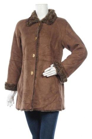 Дамско палто, Размер L, Цвят Кафяв, Цена 13,39лв.