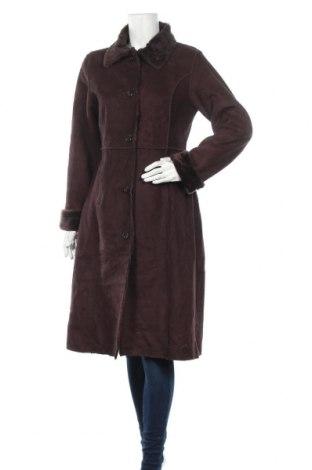 Дамско палто George, Размер L, Цвят Кафяв, Полиестер, Цена 50,40лв.