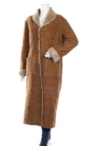 Дамско палто, Размер L, Цвят Кафяв, Цена 20,32лв.