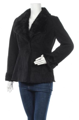 Дамско палто, Размер S, Цвят Черен, Полиестер, Цена 17,22лв.