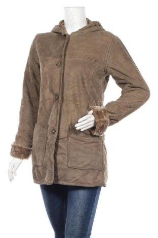Дамско палто, Размер XS, Цвят Сив, Полиестер, Цена 10,76лв.