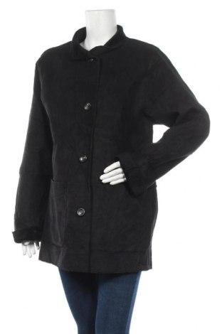 Дамско палто, Размер L, Цвят Черен, Полиестер, Цена 16,70лв.