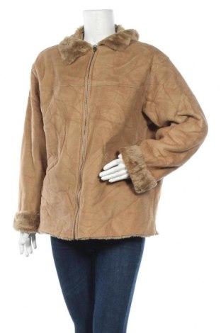 Дамско палто, Размер L, Цвят Кафяв, Полиестер, Цена 11,29лв.