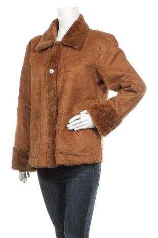 Дамско палто, Размер L, Цвят Кафяв, Цена 9,14лв.