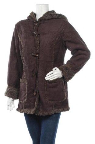 Дамско палто L.L. Bean, Размер M, Цвят Кафяв, Цена 13,65лв.