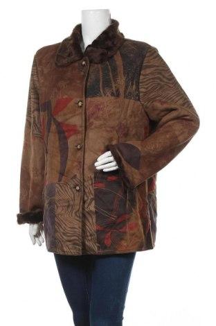 Дамско палто, Размер XL, Цвят Многоцветен, Полиестер, Цена 33,86лв.
