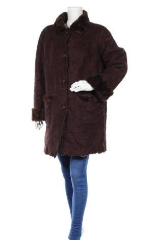 Дамско палто, Размер L, Цвят Кафяв, Полиестер, Цена 19,11лв.