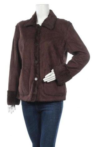 Дамско палто, Размер L, Цвят Кафяв, Цена 13,23лв.