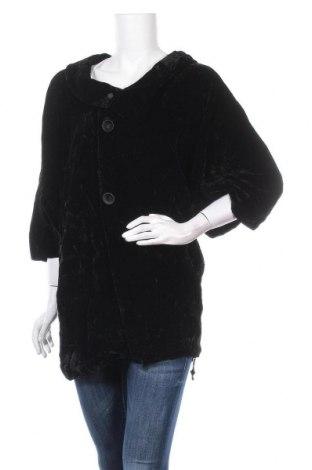 Дамско палто, Размер M, Цвят Черен, Цена 11,03лв.