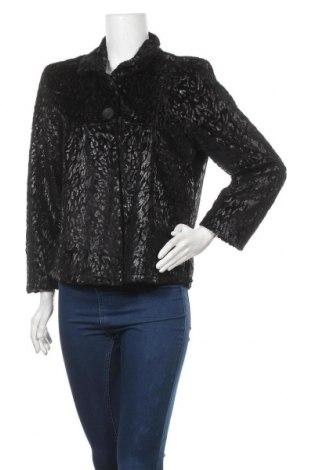 Дамско палто, Размер L, Цвят Черен, Цена 34,65лв.