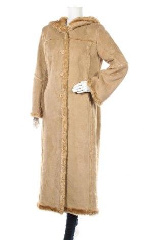 Дамско палто, Размер M, Цвят Бежов, Цена 42,63лв.