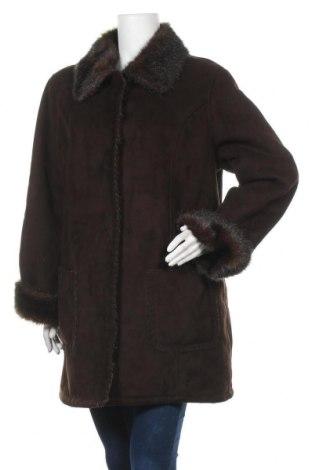 Дамско палто, Размер XL, Цвят Черен, Полиестер, Цена 31,50лв.