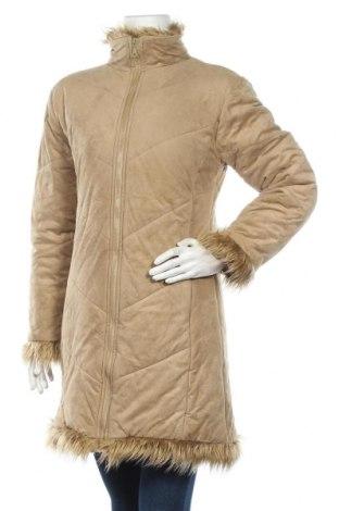 Дамско палто, Размер M, Цвят Бежов, Полиестер, Цена 19,37лв.
