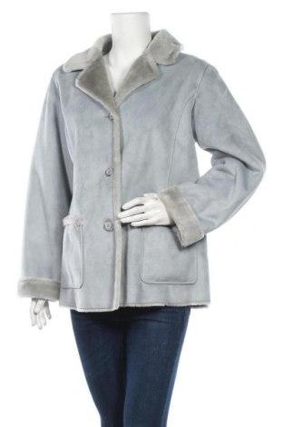 Дамско палто, Размер L, Цвят Сив, Полиестер, Цена 32,34лв.