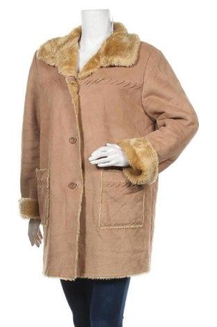 Дамско палто, Размер XL, Цвят Кафяв, Цена 16,07лв.