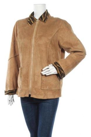 Дамско палто, Размер L, Цвят Кафяв, Цена 13,86лв.