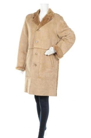 Дамско палто, Размер M, Цвят Бежов, Цена 15,44лв.