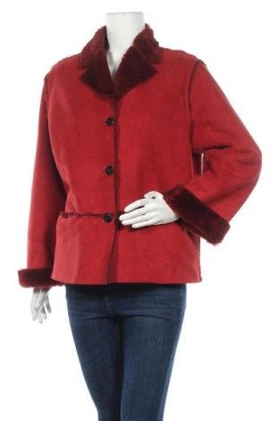 Дамско палто, Размер M, Цвят Червен, Цена 16,38лв.