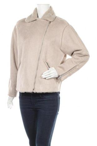 Дамско палто, Размер M, Цвят Бежов, Цена 18,27лв.